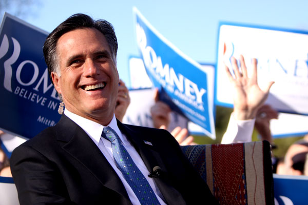 6 Creative Ways Mitt Romney Is Courting Shooters