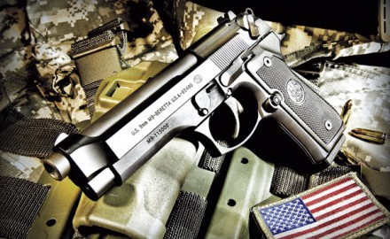 The United States Army will continue to use Beretta pistols as soldiers' service