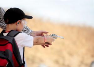 Teaching-a-kid-to-shoot