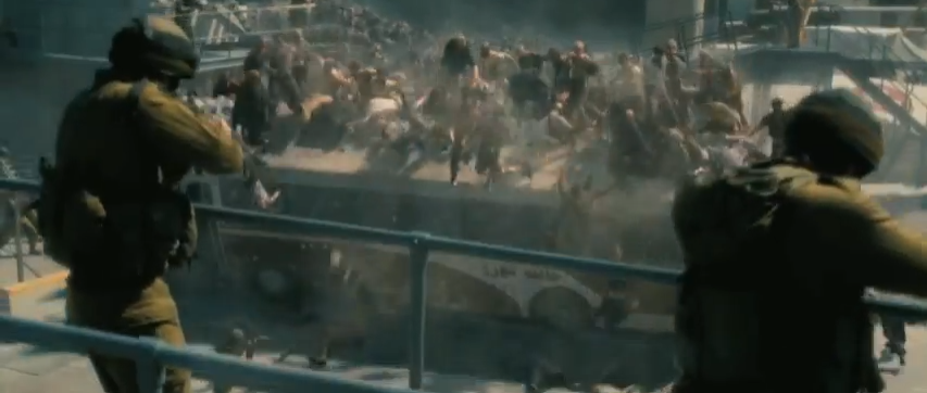 First Look: Zombies and Guns Galore in 'World War Z' Trailer