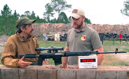 David Fortier and I take a look at the SVD Dragunov sniper rifle. The SVD Dragunov is one of the