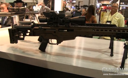 Barrett was at the 2013 SHOT Show in Las Vegas for the release of its new Barrett MRAD rifle, which