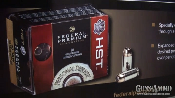 Introducing Federal Ammunition Personal Defense HST