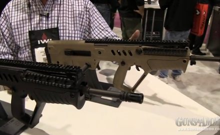 G&A correspondent Tim Harmsen got a look at the brand new IWI Tavor at the 2013 SHOT Show in