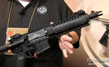 The G&A online staff was able to get a look at three new LWRCI rifles for 2013. First, the