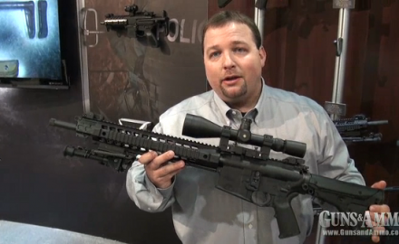 SIG Sauer introduced the brand new SIG Sauer 716 Precision Rifle at the 2013 SHOT Show. Featuring