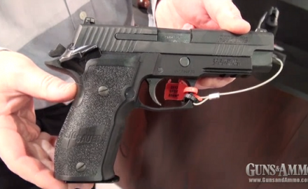 SIG Sauer gave us a look at its brand new SIG Sauer P226 SAO at the 2013 SHOT Show in Las Vegas.