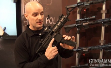 SIG Sauer introduced its brand new MPX submachine gun at the 2013 SHOT Show in Las Vegas.