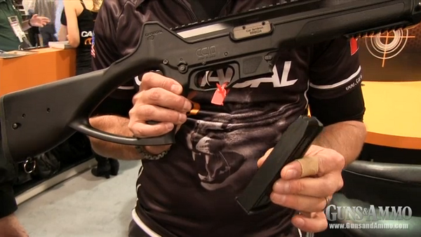 Introducing the Caracal CC10 9mm Carbine