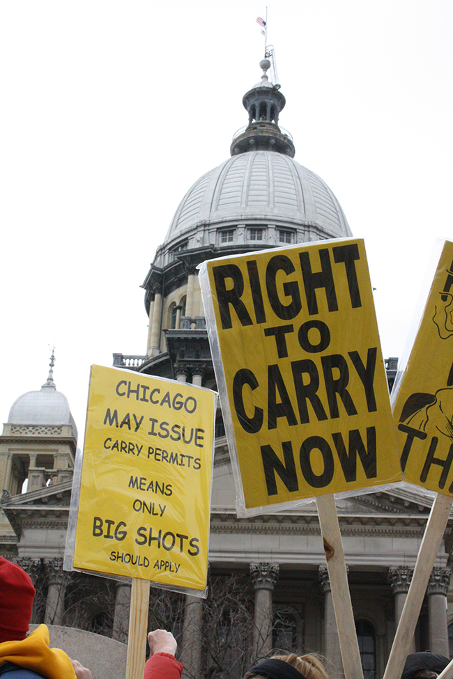 Illinois Gun Owners March on Capitol for Concealed Carry