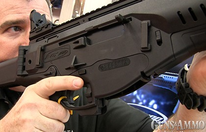 Even though G&A already had the Beretta ARX 100 at the range weeks ago for an up-close and
