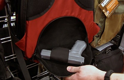 New Blackhawk Concealment Bags are designed to enable transportation of handguns and long guns in