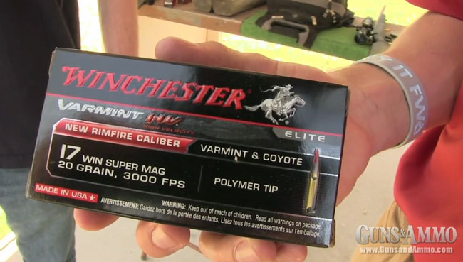 At the Range: Testing the .17 Winchester Super Magnum