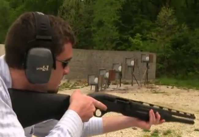 At the Range: Beretta 1301 Competition Shotgun
