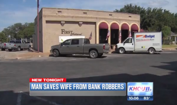 Read & React: Armed Texas Man Shoots Kidnappers Who Forced Wife to Rob Bank