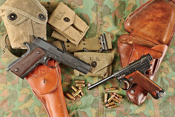 WWII Pistols in the Pacific: U S  M1911A1 & Japanese Typ