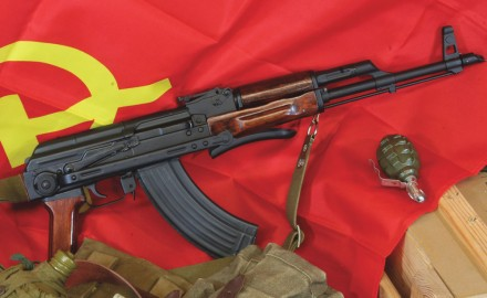 The Kalashnikov AK-47 and its variants are the most widely used military rifles in the world.