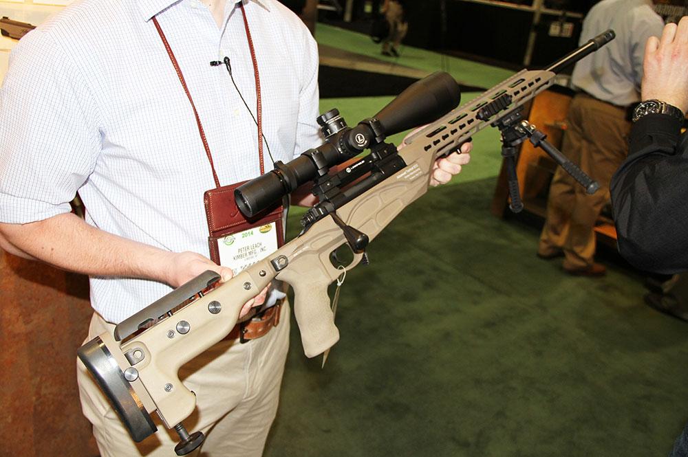 Introducing the Kimber Advanced Tactical SOC Rifle - Guns & Ammo
