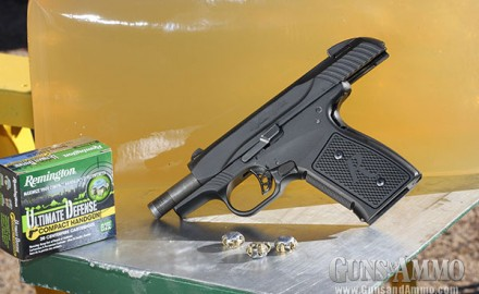 New for 2014, the Remington R51 Sub-Compact pistol was designed as a modern version of Remington's