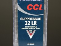 cci suppressor 22lr ammo