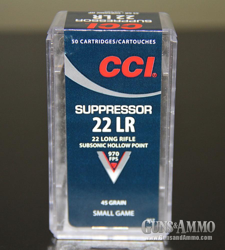 New for 2014: CCI Suppressor 22LR Ammo