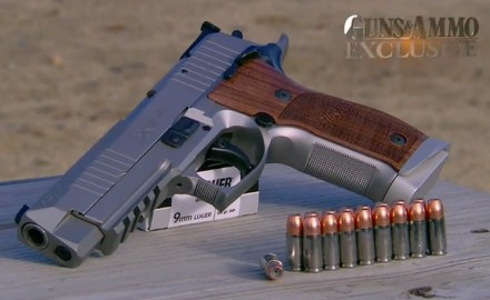 Born from the roots of the original P226 X-Five, the new SIG Sauer X-Five was designed as a modular