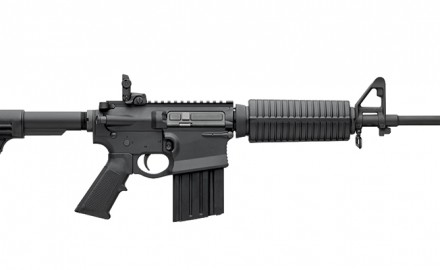 The DPMS GII .308 Win. rifle combines the dimensions and components of the AR-15 and AR-10 into a