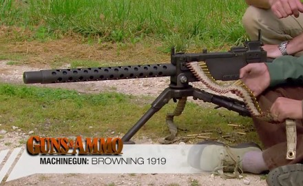 Among his extensive list of successful machine guns, one of John M. Browning's most famous designs