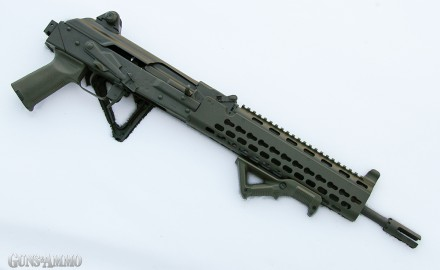 The Krebs Custom KV-13 is pioneering an entirely new look and feel for AK-style rifles.  The