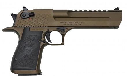 Magnum Research is expanding their line of Desert Eagle Mark XIX pistols to include a new Cerakoted