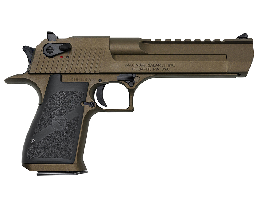 First Look: Magnum Research Desert Eagle Mark XIX Burnt Bronze