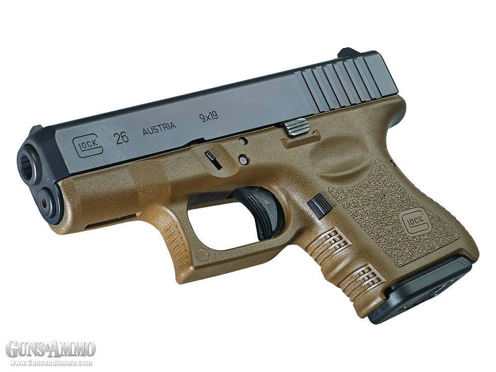 Black & Tan: Glock 26 Gen 3 FDE