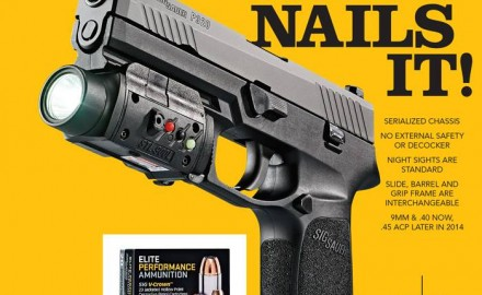 We first reported on the SIG Sauer P320 from the 2014 SHOT Show, and couldn't wait to test it out
