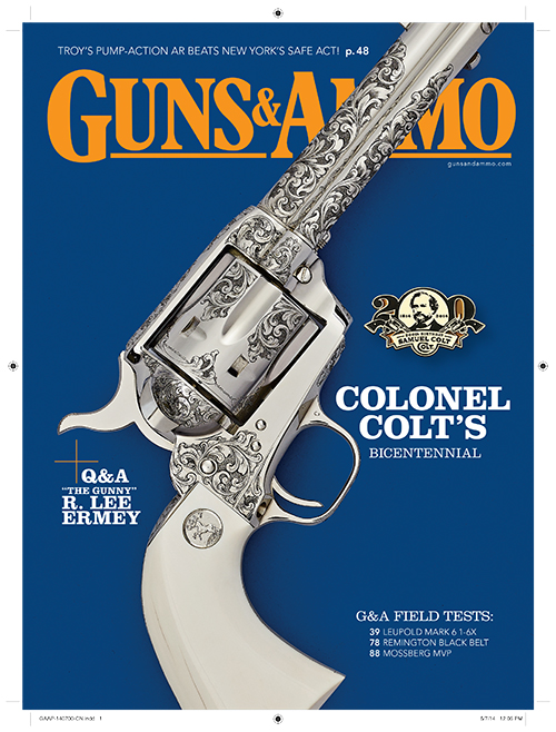 G&A Commemorative Cover: Colt Modern Masters