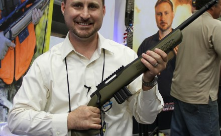 Announced at the 2014 NRA Show in Indianapolis, Mossberg announced their partnership with Red