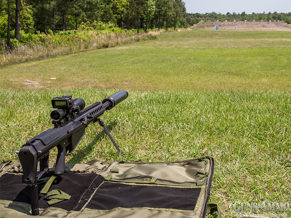 At the Range: Barrett M107A1
