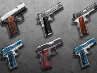Kimber summer 2014 collection of 1911 pistols