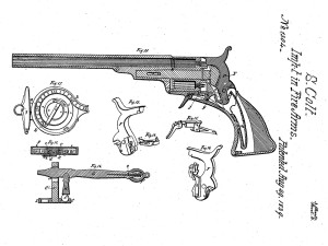 "Colt Paterson ""Holster Model,"" patent August 29, 1839. Photo: Wadsworth Atheneum Museum of Art"