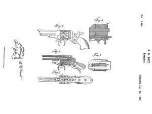 "Elisha K. Root ""Revolver,"" patent December 25, 1855. Photo: Wadsworth Atheneum Museum of Art"