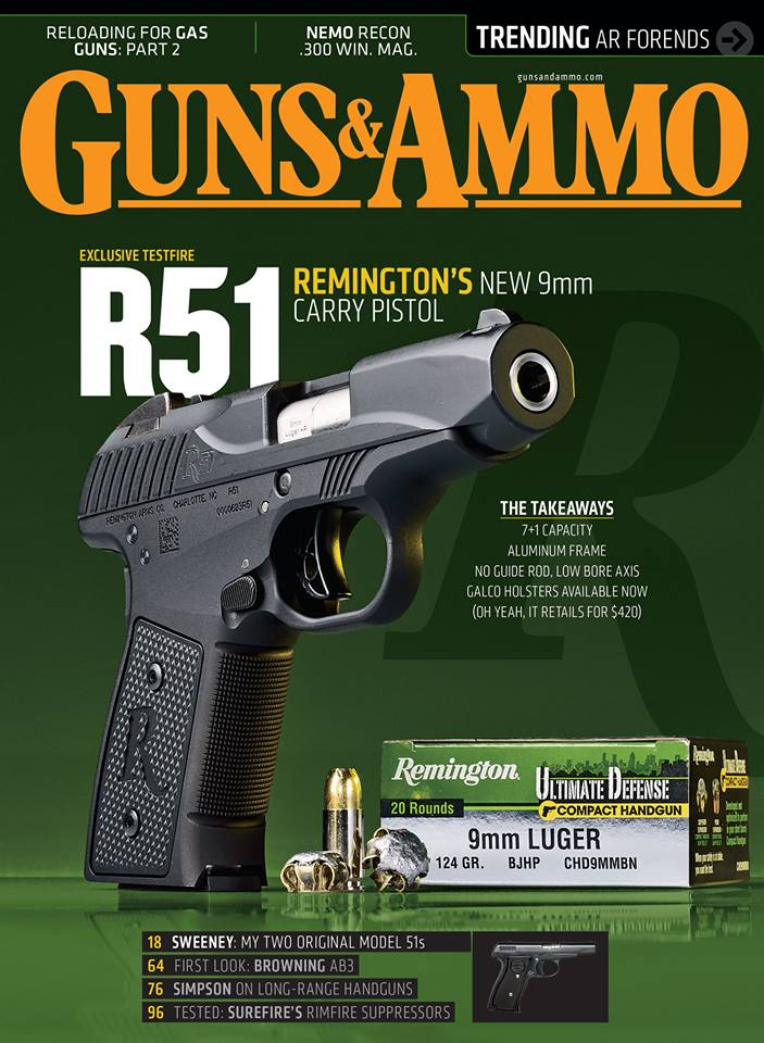 Remington Announces R51 Pistol Update