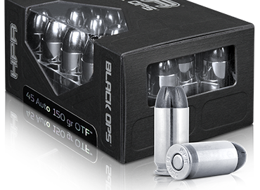 HPR Ammunition has introduced a new line of defensive ammunition called Black Ops.  Black Ops ammo