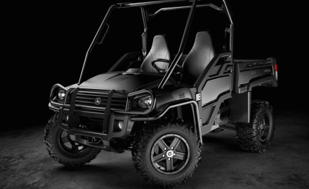 John Deere has given their Gator line of utility vehicles a touch of tactical.  The company has