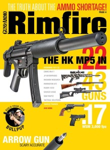 There's now a magazine dedicated to the wondrous rimfire. From subsonic .22s to the blistering .17s, RIMFIRE brings you the coolest new ammo, rifles and handguns. If you love affordable plinking, pick up this issue of RIMFIRE.