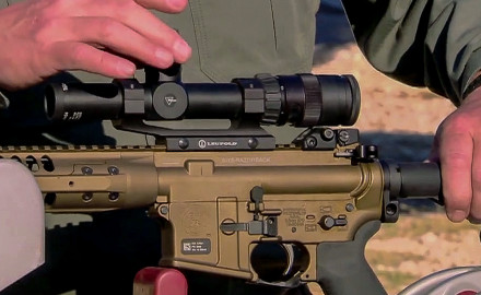 Modular rifle platforms like the AR-15 make it a breeze to quickly attach optics and