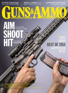 The HK VP9 was chosen Handgun of the Year in the December 2014 issue of G&A. Subscribe here to print, digital or both!