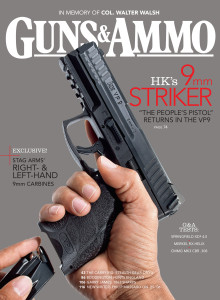 The HK VP9 appeared on the cover of the September 2014 issue of G&A. Subscribe to print, digital or both.