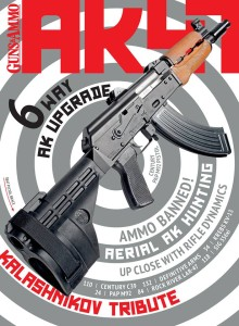 For everything AK47 from the newest guns to the hot-button topics, pick up a copy of Guns & Ammo Book of the AK47.