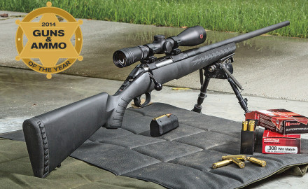 The rifle itself was a new product in 2012, garnering many awards. For 2014, this rifle was offered