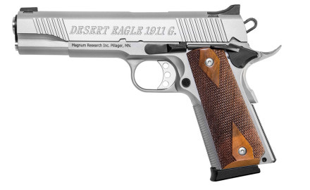 Magnum Research has introduced three new stainless steel models to its Desert Eagle 1911 line of