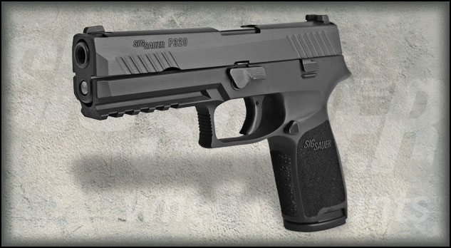 SIG Sauer Launches P320 Take-A-Shot Contest